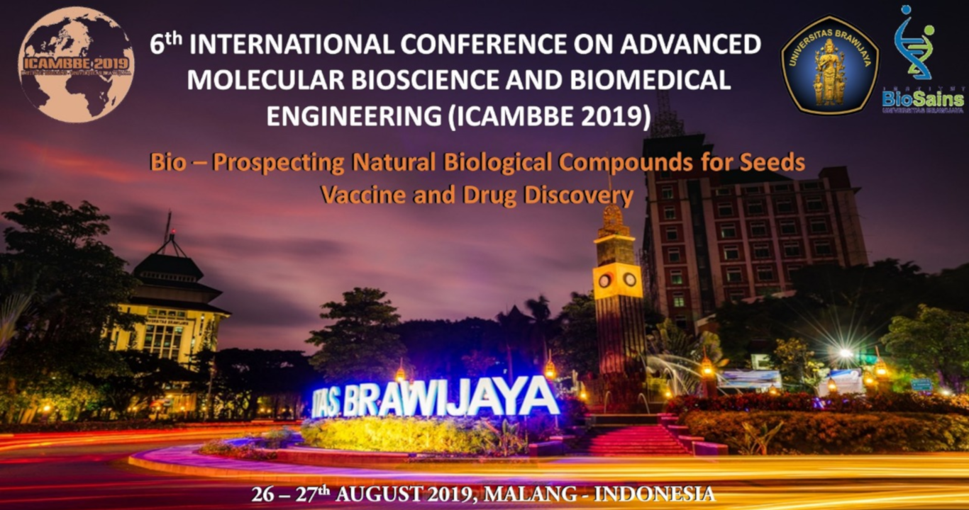 ICAMBBE 2019 – 6th International Conference on Advanced Molecular